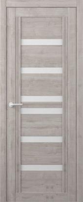 Дверь межкомнатная Вест Миссури, графит белый