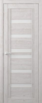Дверь межкомнатная Вест Миссури, жемчуг белый