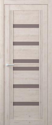 Дверь межкомнатная Вест Миссури, крем бронза