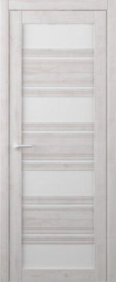 Дверь межкомнатная Вест Монтана, жемчуг белый