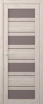 Дверь межкомнатная Вест Монтана, крем бронза