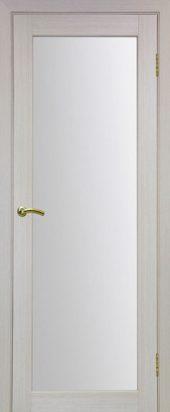 Межкомнатная дверь парма стекло беленый дуб