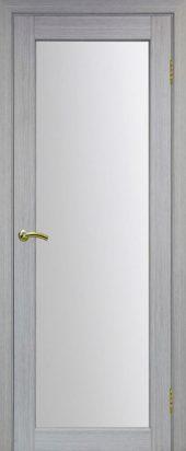 Межкомнатная дверь парма стекло 401 дуб грей