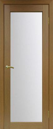 Межкомнатная дверь парма стекло 401 орех