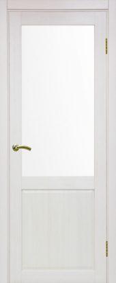 Тоскана 602 ясень перламутровый со стеклом