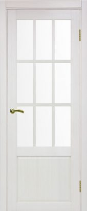 Французская межкомнатная дверь тоскана 642 ясень перламутровый