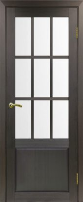 Французская межкомнатная дверь тоскана 642 венге